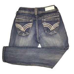 *LAST CHANCE!* REWIND Straight leg capri jeans, 2